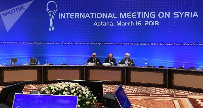 Réunion d'Astana, le processus de paix en Syrie
