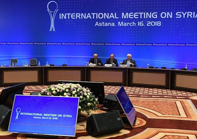 Négociations d'Astana, mars 2018