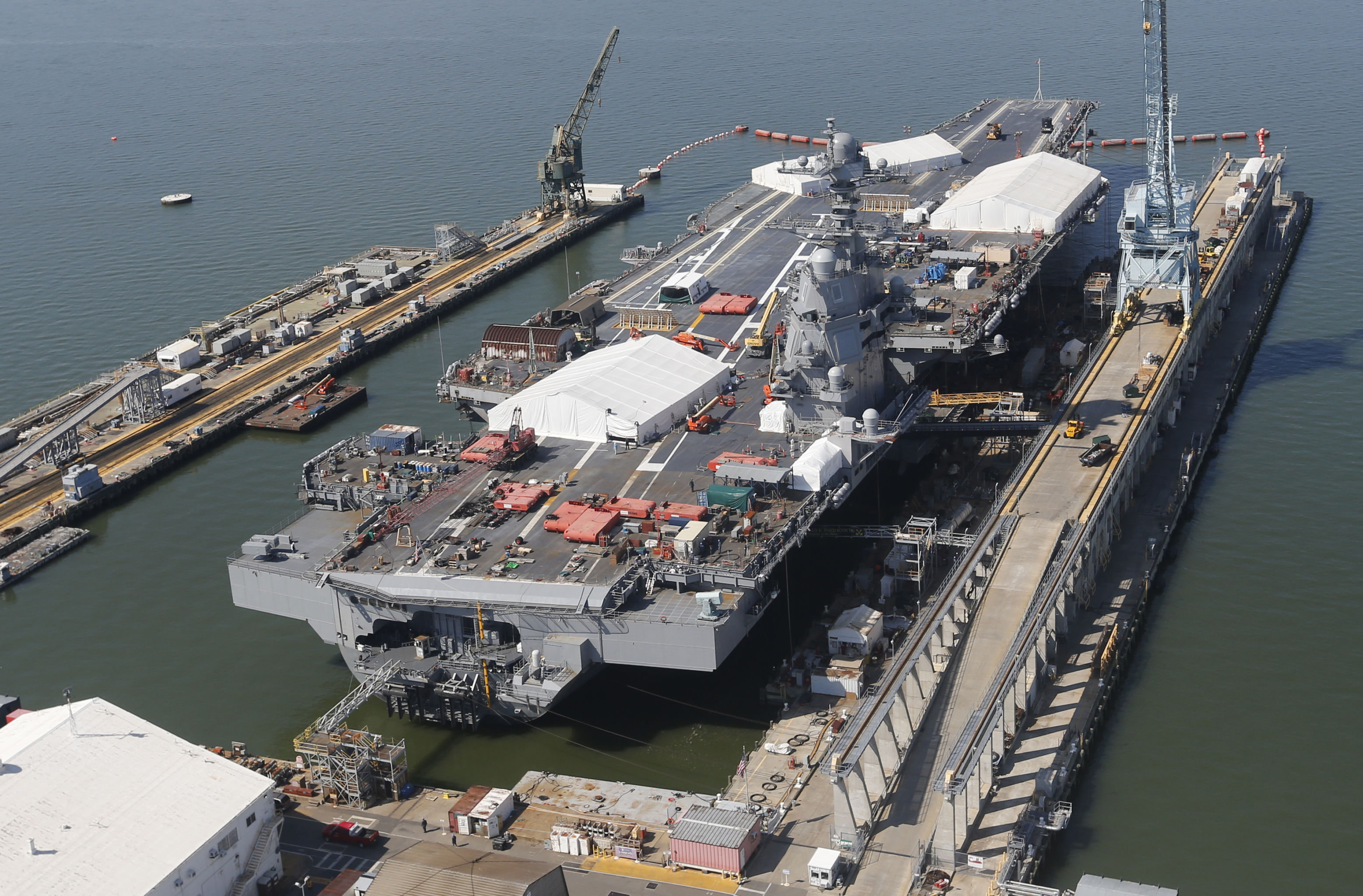 Construction du Gerald R. Ford (CVN 78)