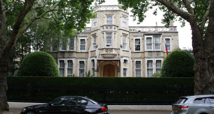 L'ambassade de Russie à Londres
