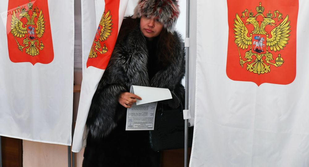 L'élection présidentielle en Russie
