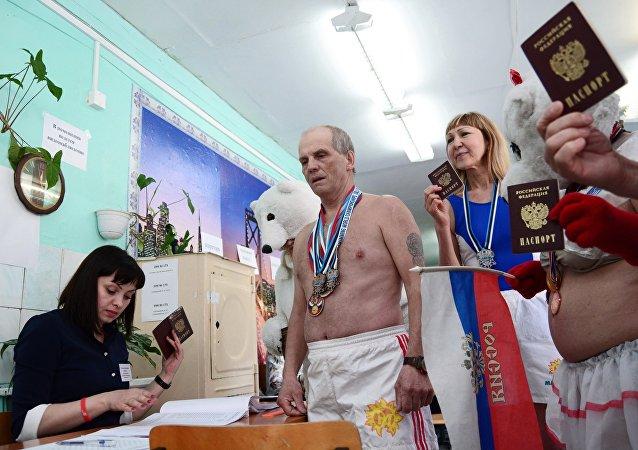 Ces moments de l'élection russe qui ont fait le buzz sur le Web