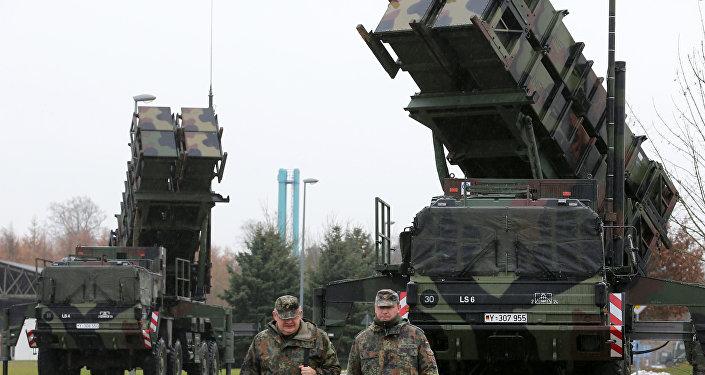 Un système de défense aérienne en Allemagne