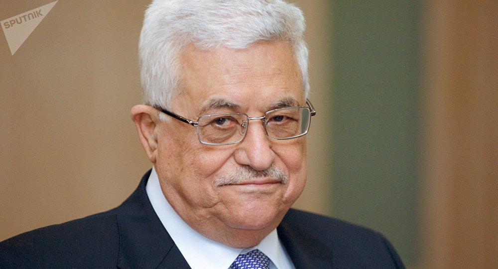 Président palestinien Mahmoud Abbas