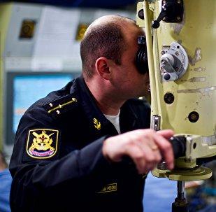 à bord du sous-marin Novorossiïsk