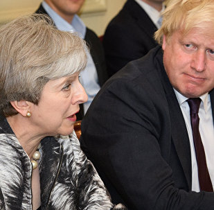Boris Johnson et Theresa May