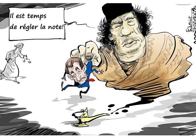 Financement de la campagne de Sarkozy par Kadhafi