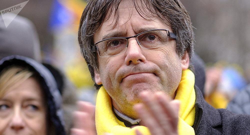 Carles Puigdemont à Bruxelles