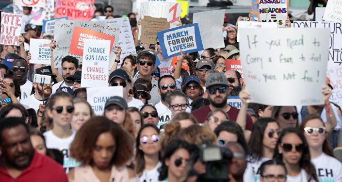 Marche pour nos vies aux Etats-Unis