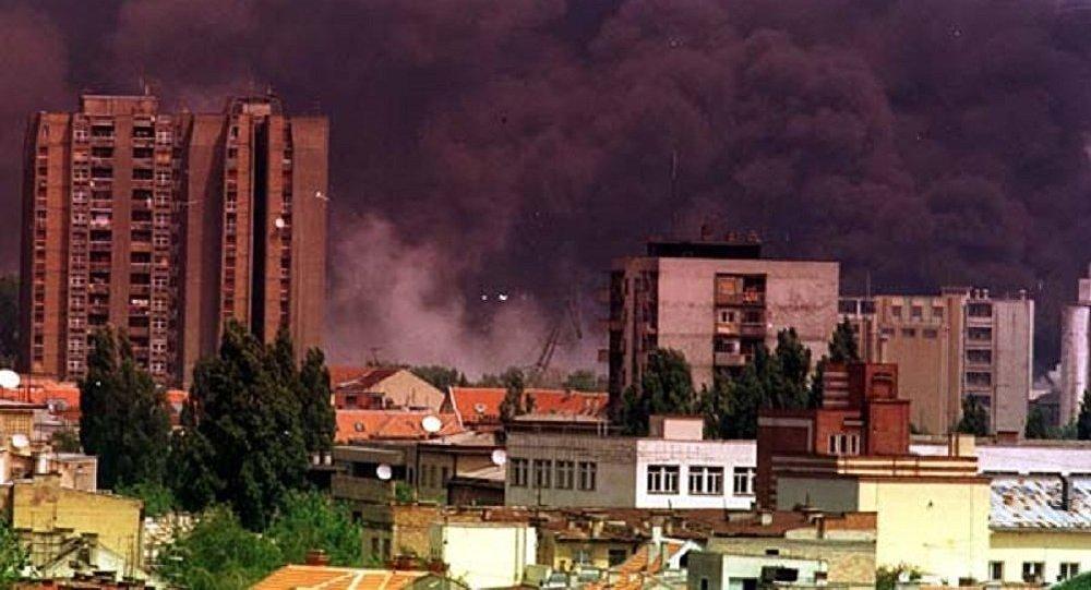 Le bombardement de la Yougoslavie en 1999