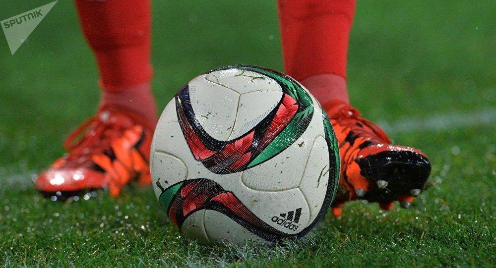Ballon de foot. Image d'illustration