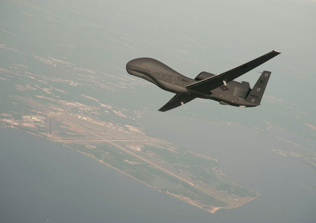 Un drone RQ-4 Global Hawk