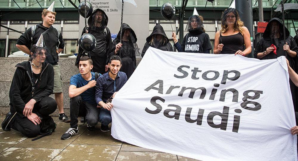 ONG  Campaign Against Arms Trade (CAAT) basée au Royaume-Uni