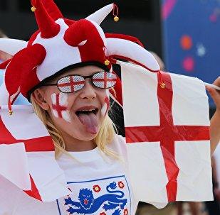 Supporteur de l'Angleterre