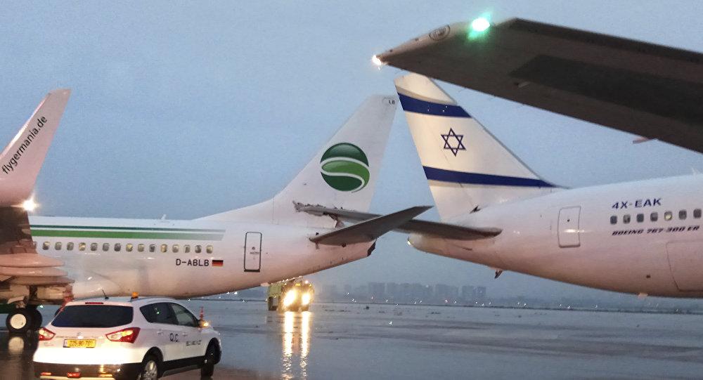 l'aéroport international de Tel-Aviv-David Ben Gourion