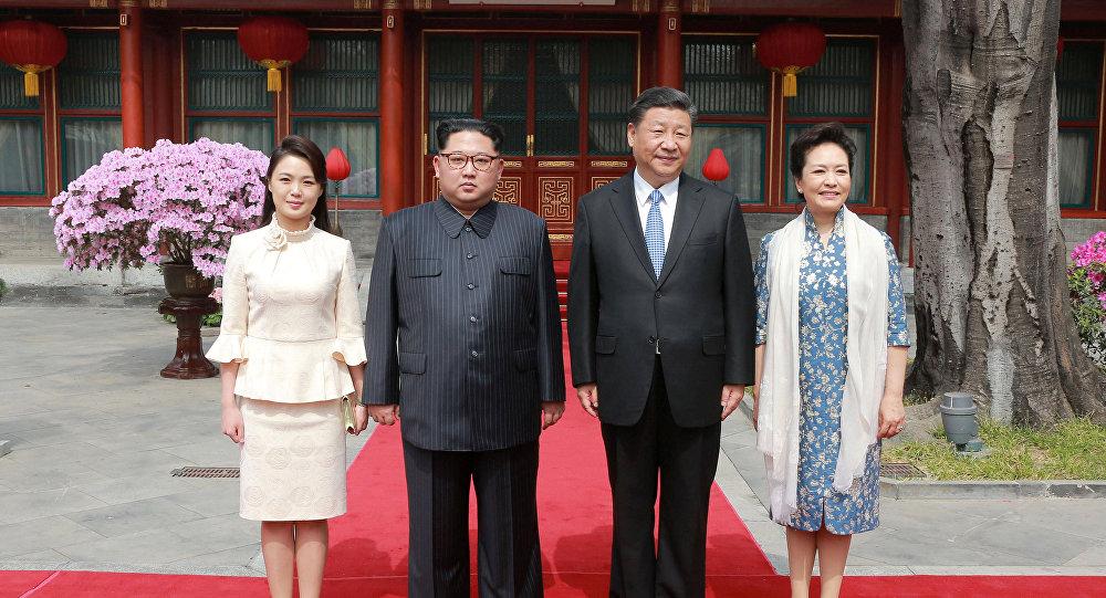 La récente visite de Kim Jong-un en Chine