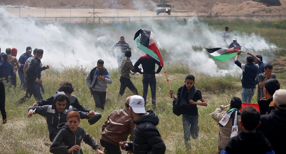 Situation à la frontière entre la bande de Gaza et Israël