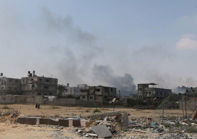 à la frontière de la bande de Gaza, image d'illustration
