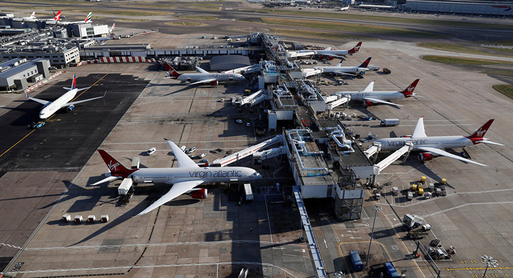 A general view of Terminal 3 at Heathrow Airport near London, Britain October 11, 2016