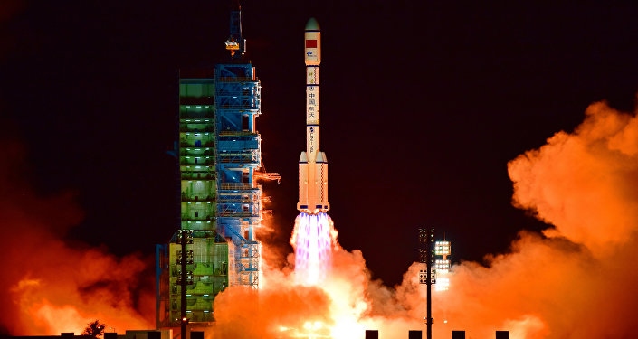 Un lanceur chinois au Xichang Satellite Launch Center