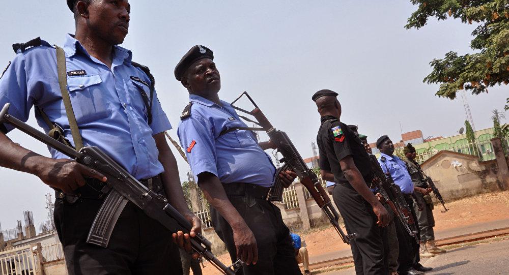 Nigeria police. (File)