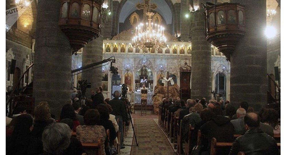Les chrétiens de Damas célèbrent Pâques en toute sécurité