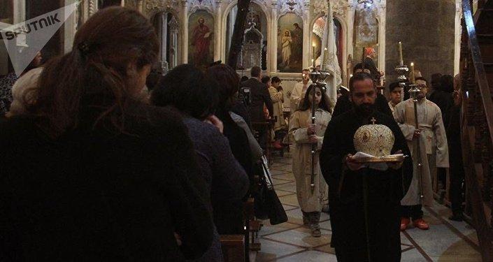 Les Rameaux et Pâques célébrés en sécurité par les chrétiens de Damas