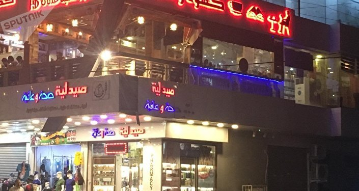 Le café «Café et livre» à Bagdad