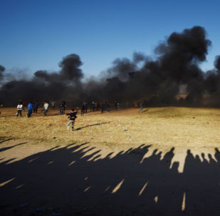 Manifestations à la frontière entre la bande de Gaza et Israël