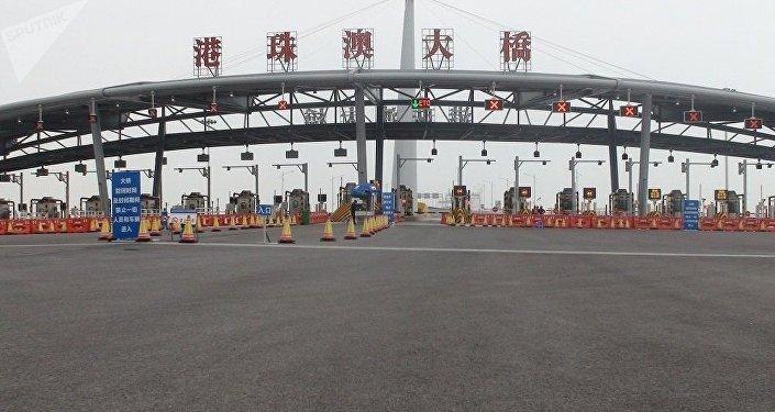 La Chine ouvre le plus grand pont maritime du monde entre Hong Kong, Zhuhai et Macao