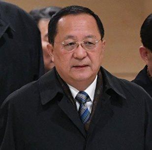 Ri Yong-ho à Moscou