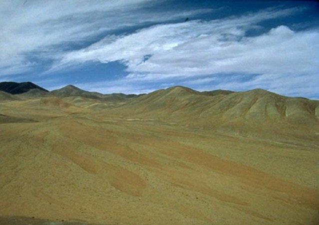 Une vue sur le désert d'Atacama