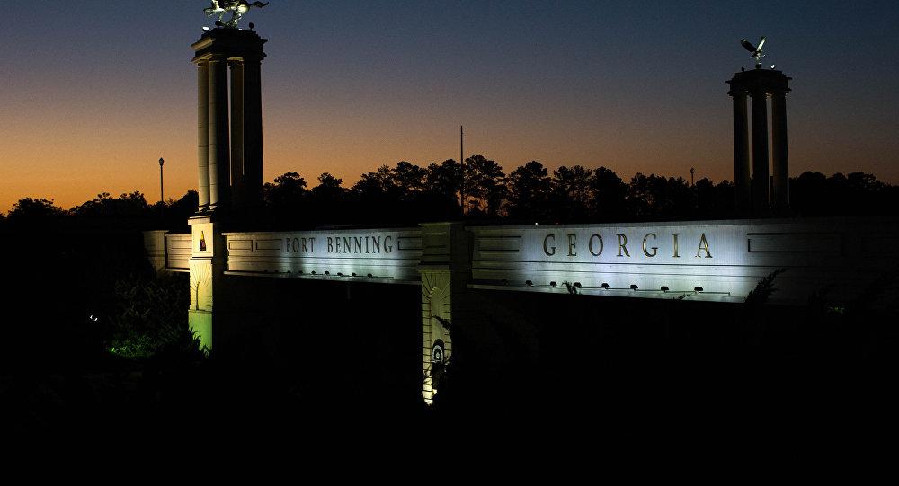 Fort Benning, Géorgie, Etats-Unis