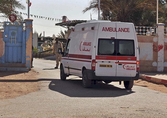 Ambulance en Algérie