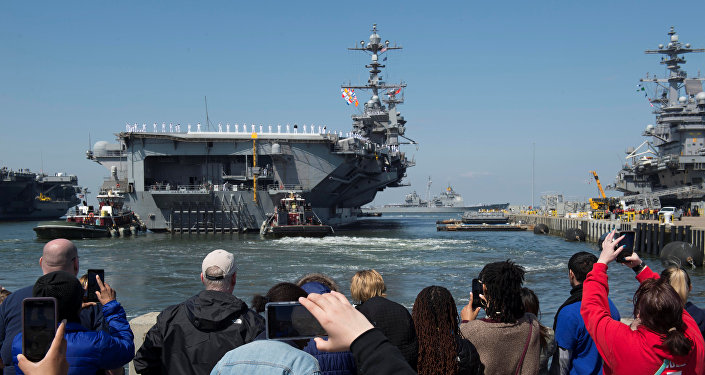 L'USS Harry S.Truman quitte la base navale de Norfolk