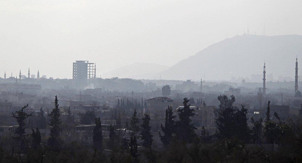 Douma, banlieue de Damas