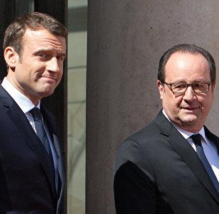Le Président en exercice et l'ex-Président
