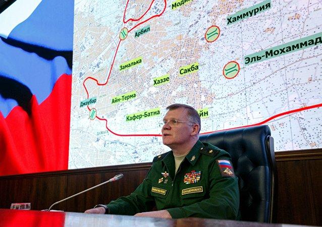 Igor Konachenkov, porte-parole de la Défense russe