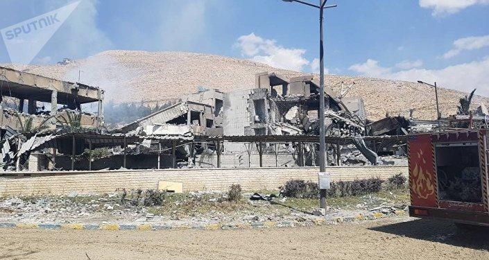 Le centre de recherche scientifique à Barzeh