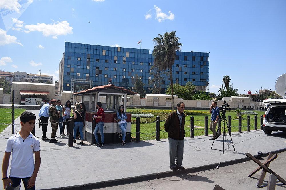 Situation à Damas au lendemain des frappes