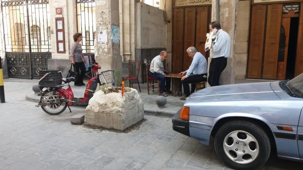 Damas au lendemain de l'attaque