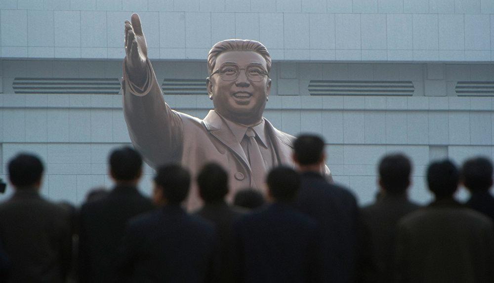 La célébration du centenaire de Kim Il-sung, 2012