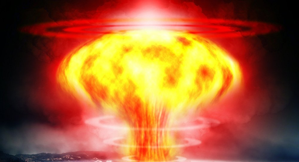Une explosion nucléaire (image de démonstration)