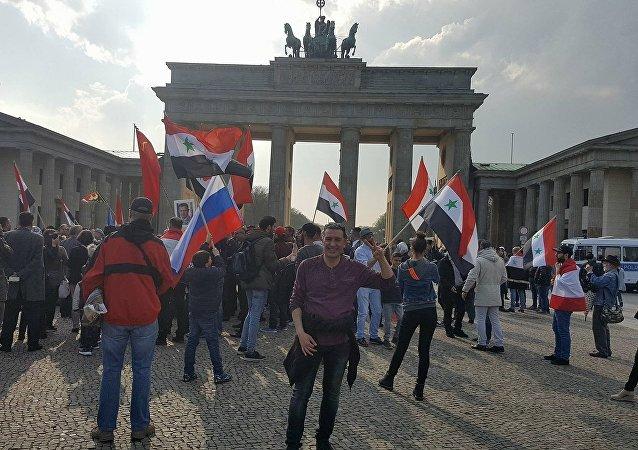 Rassemblement à Berlin