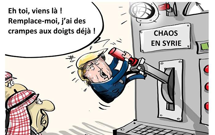 Washington voudrait remplacer ses militaires en Syrie par des soldats de pays arabes