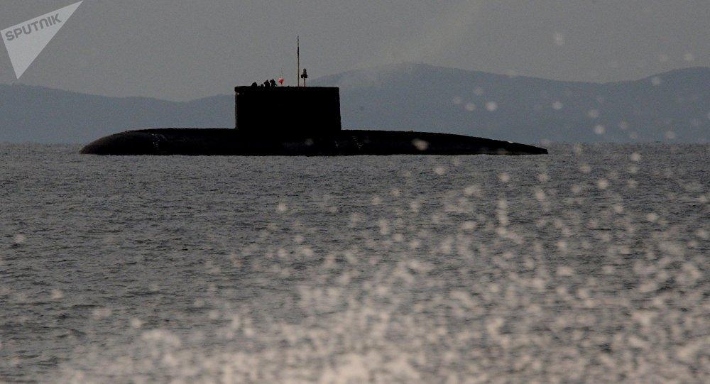 Un sous-marin de classe Kilo
