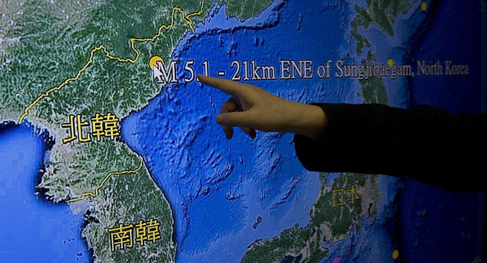 Des essais nucléaires nord-coréens. Photo d'archive