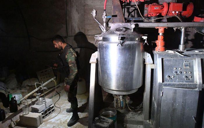 Laboratoire chimique des radicaux à Douma