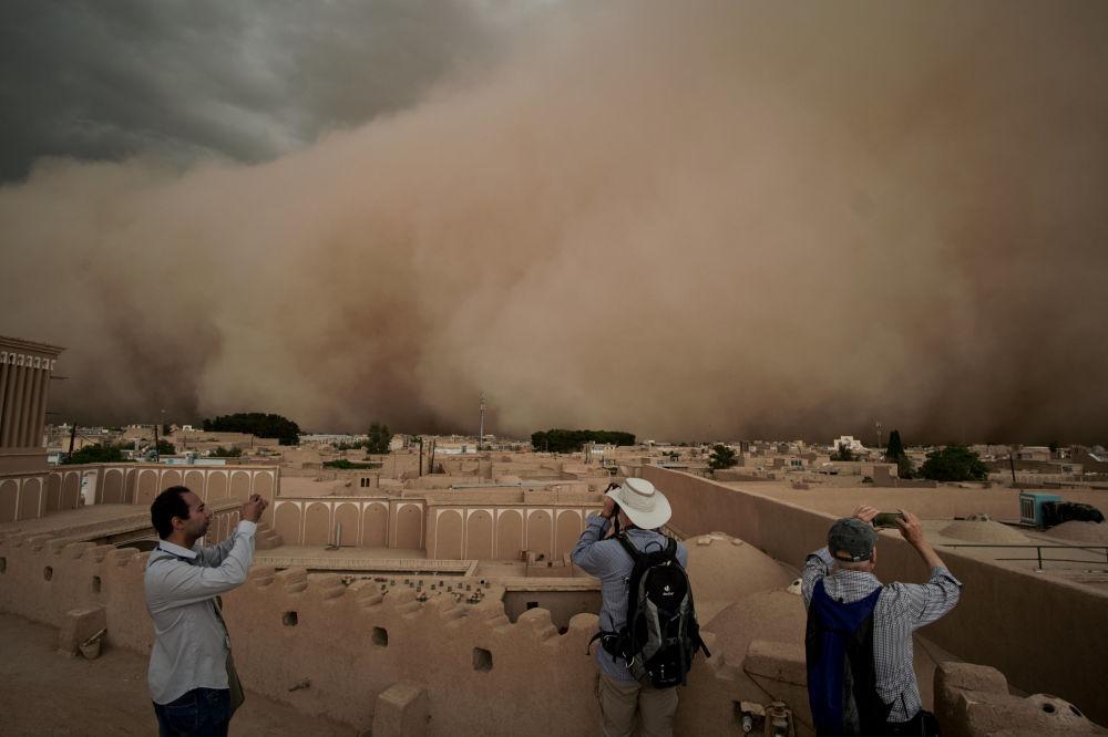 Tempête de sable en Iran