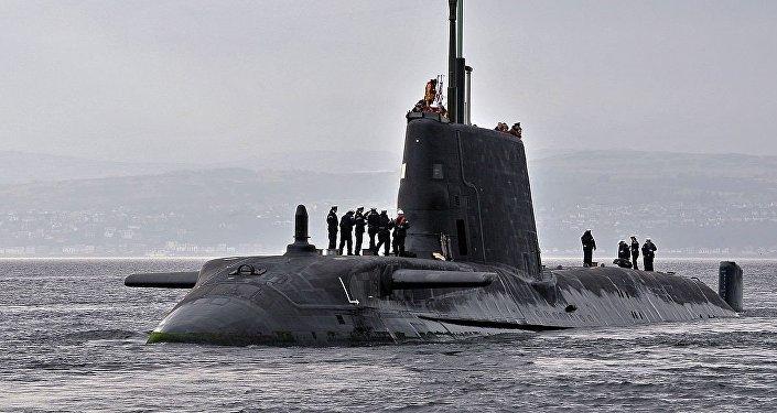Un sous-marin nucléaire britannique de classe Astute. Photo d'archive